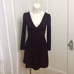 URBAN OUTFITTERS Cooperative Dress Small Plum
